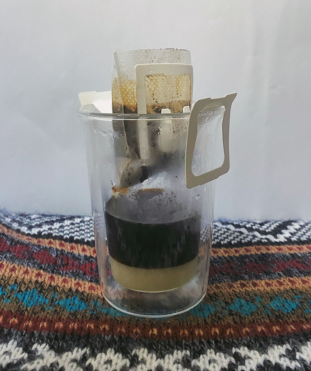 Vietnamese coffee in drip bags